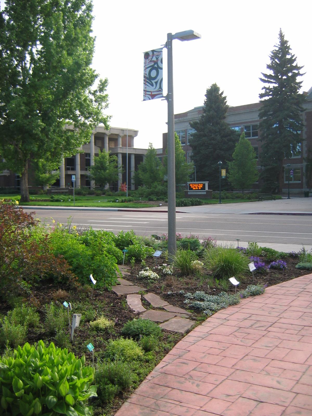 Colorado State University Flower Trial Garden Fort