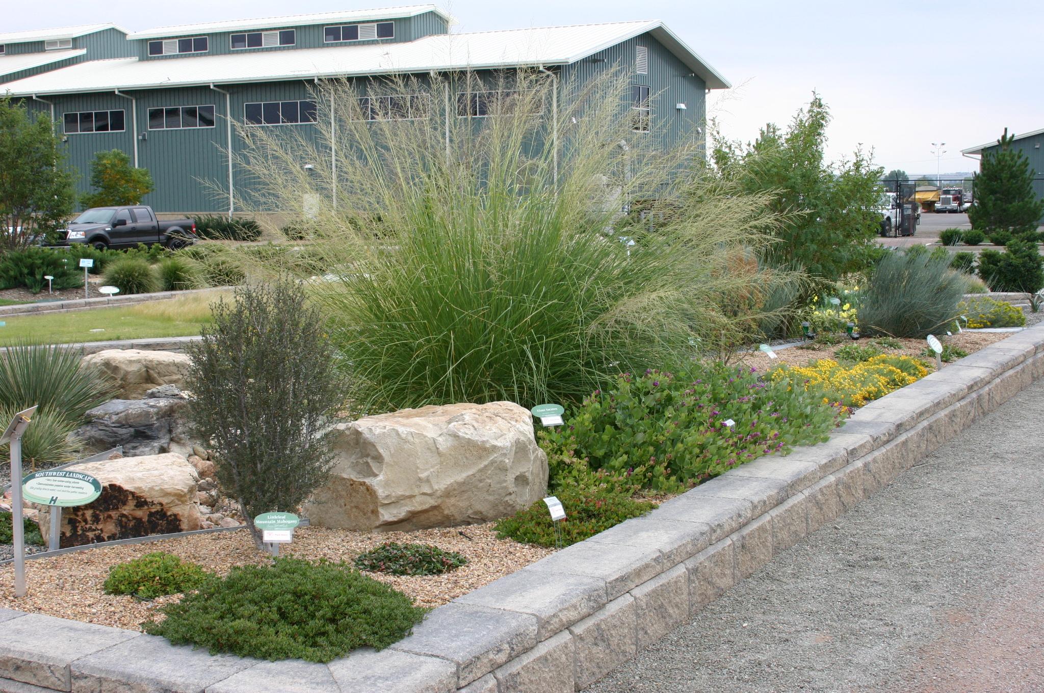 photos - Water Conservation Garden